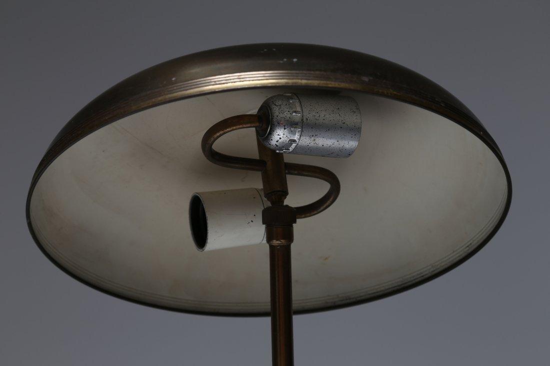 MANIFATTURA ITALIANA  lampada da tavolo in ottone, anni - 3