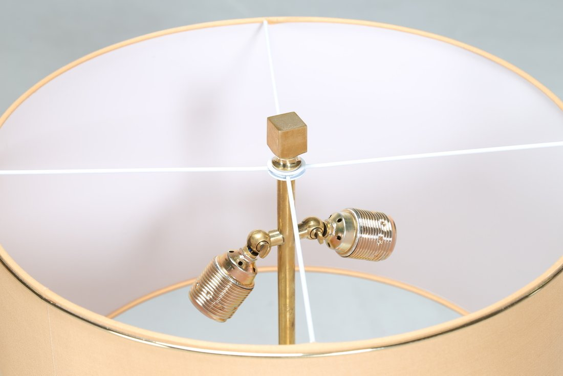 ROMEO REGA Coppia di lampade da tavolo, in radica di - 4