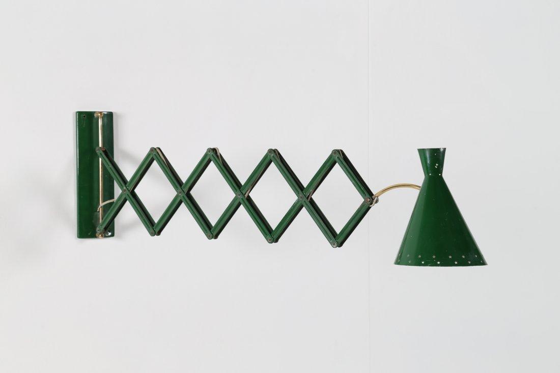 MANIFATTURA ITALIANA  Lampada da muro estensibile in