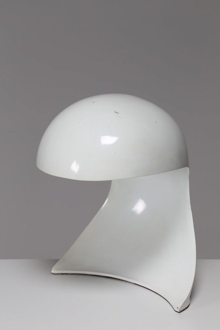 DARIO TOGNON Lampada da tavolo in metallo laccato mod.