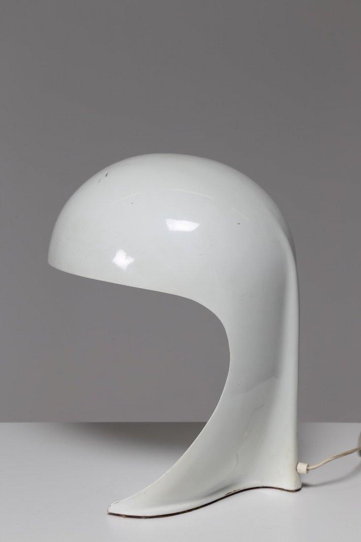 DARIO TOGNON Lampada da tavolo in metallo laccato mod. - 2
