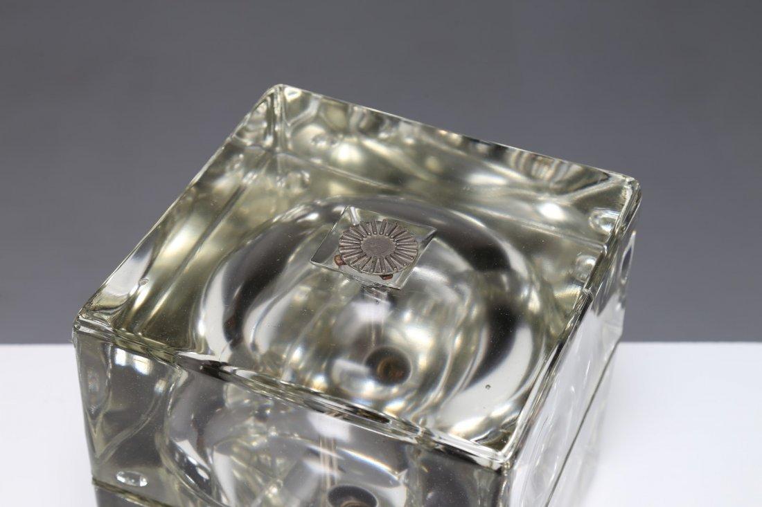 ALESSANDRO  MENDINI Lampada da tavolo in vetro massello - 2