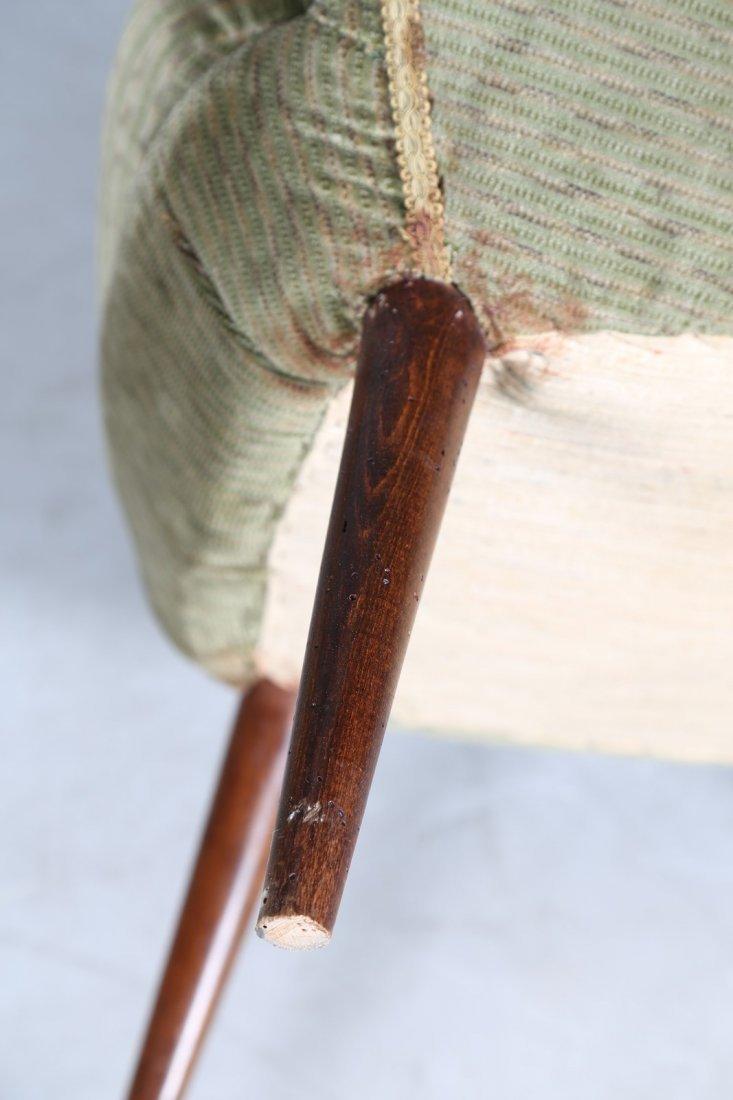 GIUSEPPE CARMIGNANI Coppia di poltrone in legno e - 4