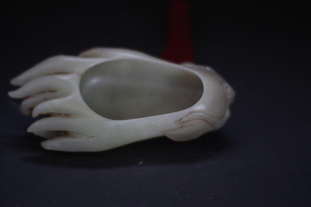 Antique chinese Jade shoe