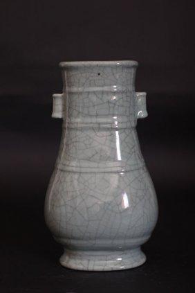 Chinese Porcelain Round Shape Vase