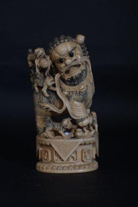 Chinese Sculpture Of Kirin