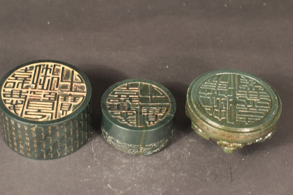 antique chinese box with kirin in the art work - 5
