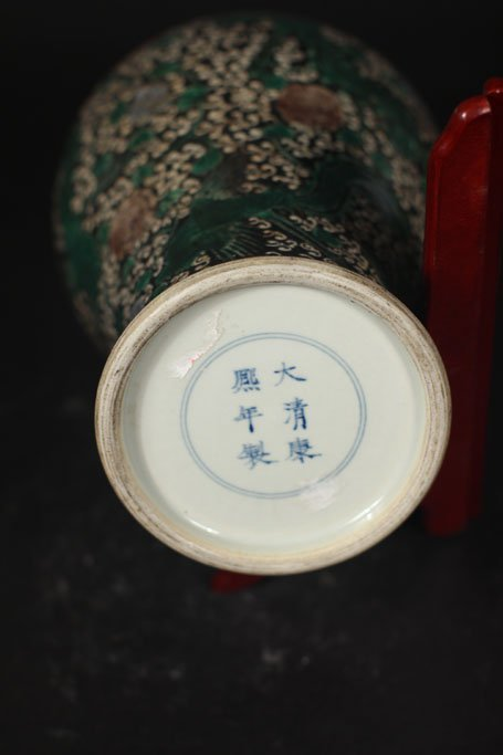 ming dynasty pot feature art of phoenix painting - 2