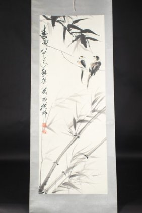 Chinese Painting Of Birds