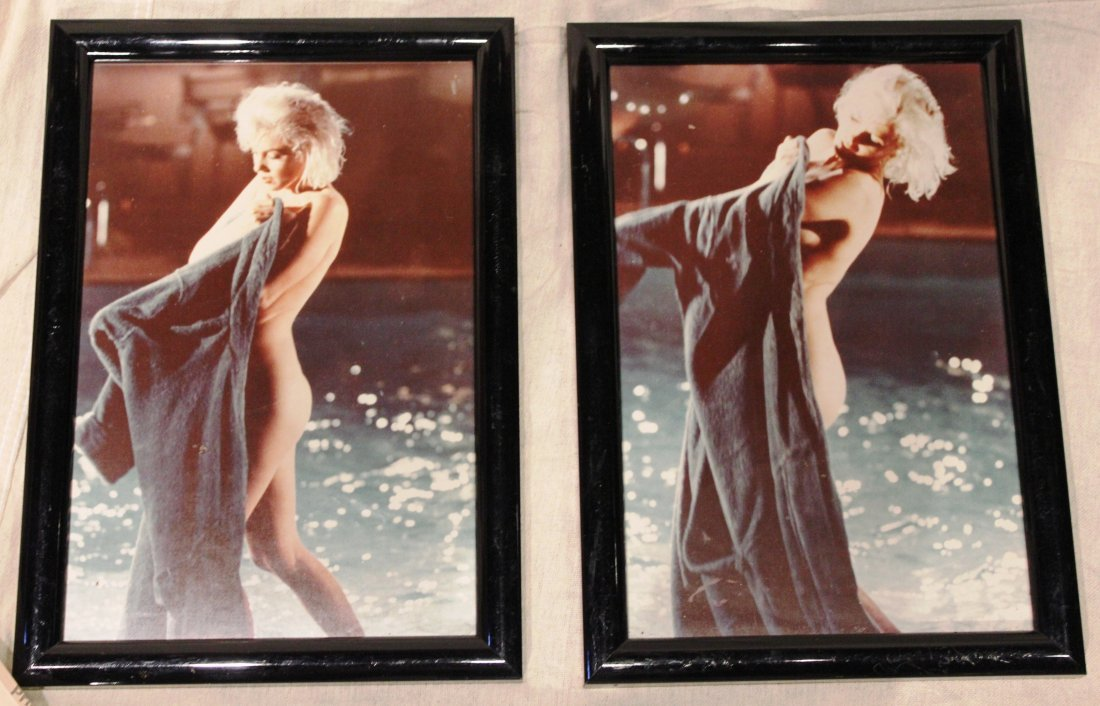 6: Pair of Marilyn Monroe Frame Reprints