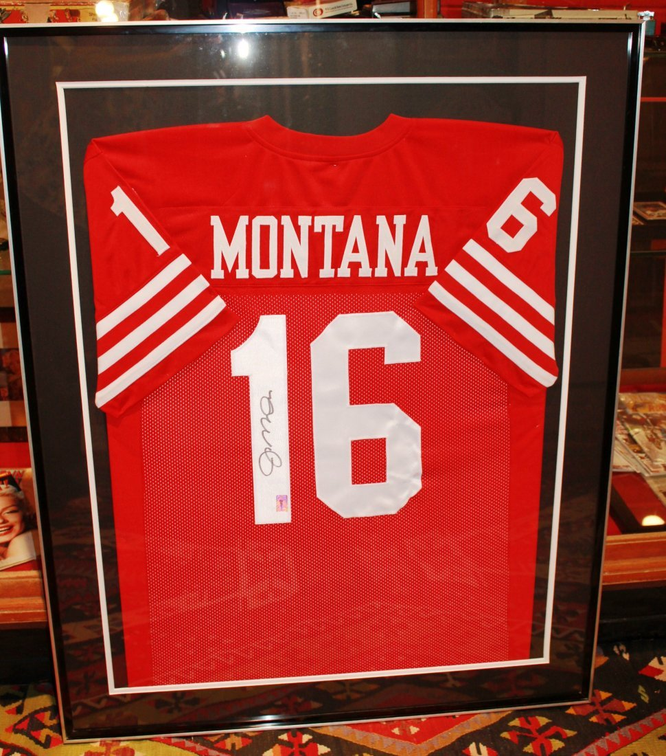 11: Joe Montana  San Francisco 49ers Signed Jersey COA