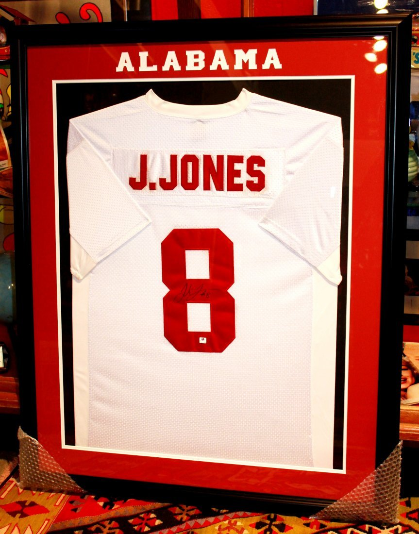 16: Julio Jones University of Alabama Signed Jersey COA