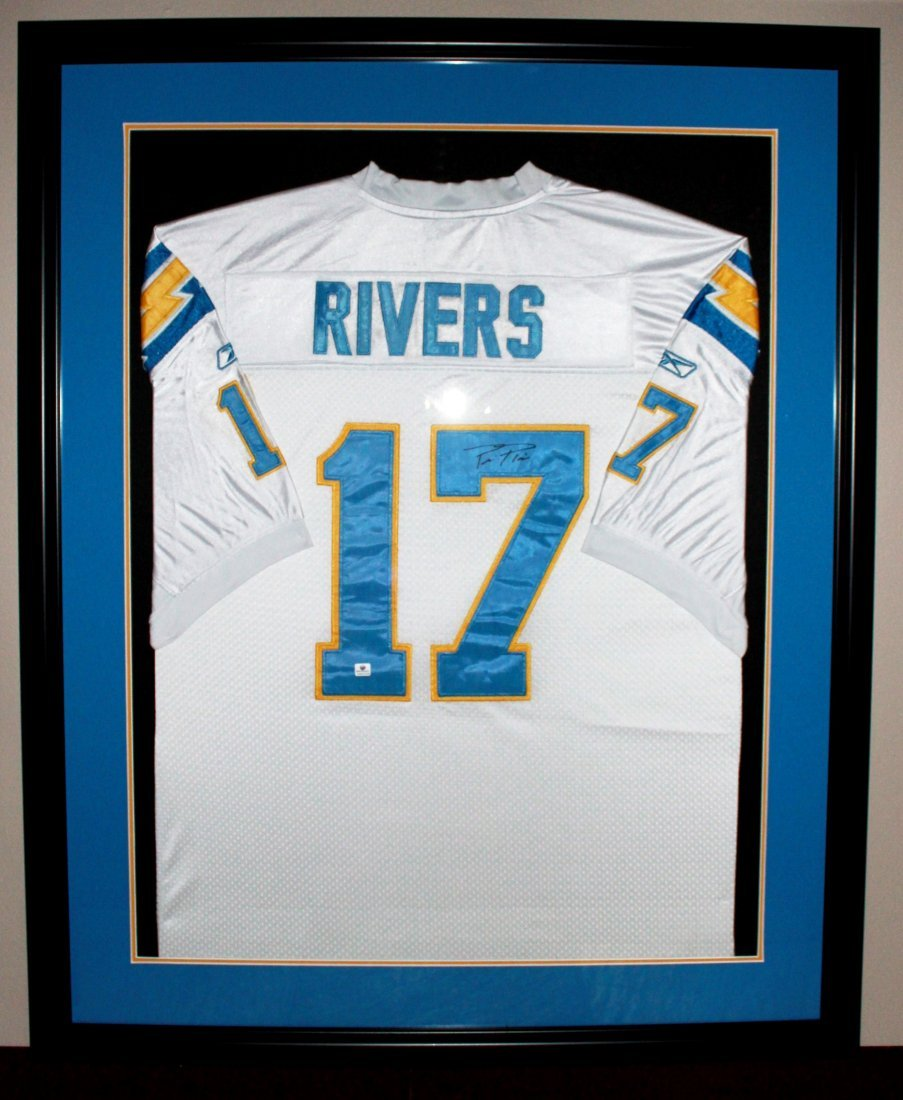 17: Phillip Rivers San Diego Chargers Signed Jersey