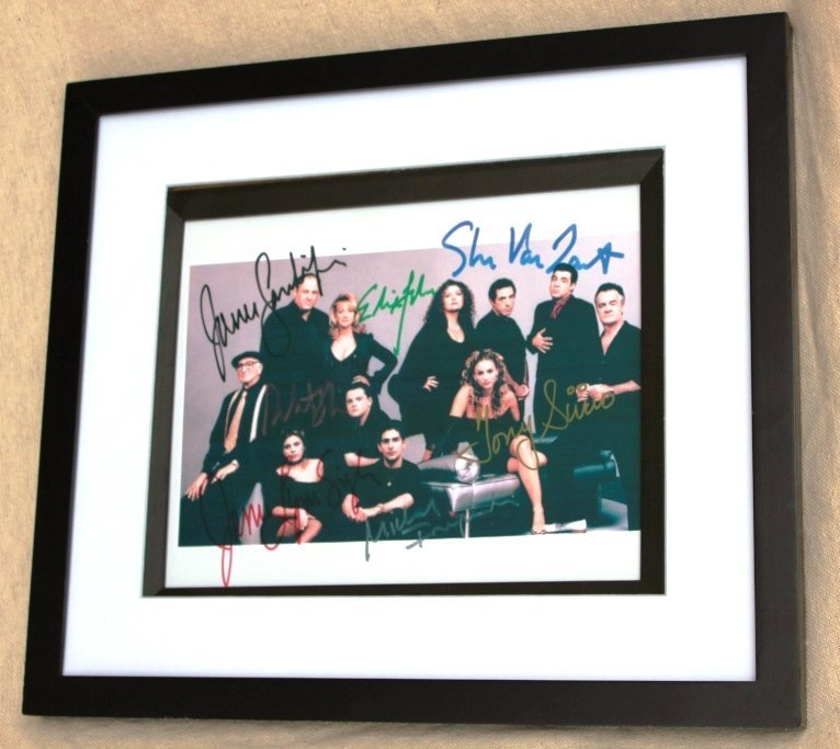 23: Signed Sopranos Picture