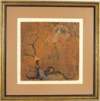"""2: C. Bragg """"In the Beginning"""" Limited Edition / Art"""