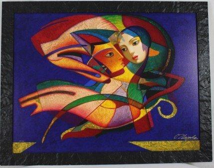 "6: ""Swift Flight"" Limited Edition Canvas/Art -Zhivetin"