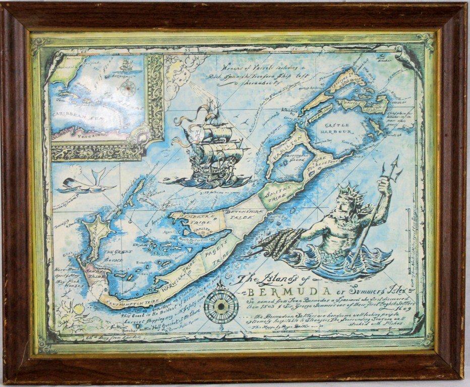 11: Islands of Bermuda or Summers Isles 1956/55- Art