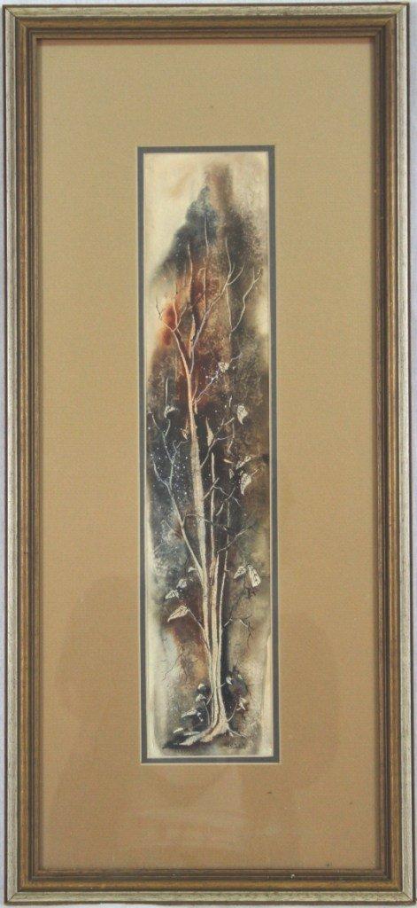 20: Original Watercolor/Ink By Late Jan Dorer / Art