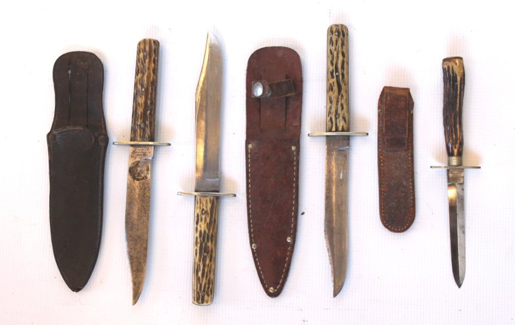 Lot of Four Sheffield Knives