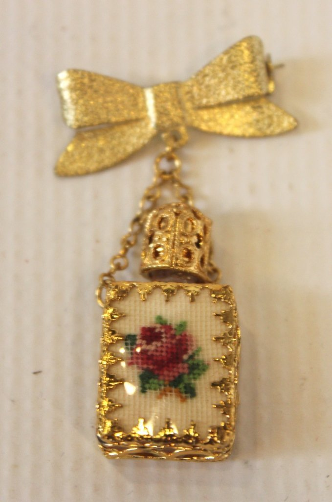 Pin With Perfume Bottle