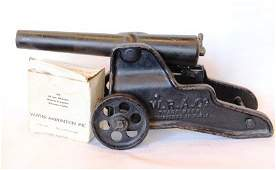 Vintage Winchester Repeating Arms Salute Cannon