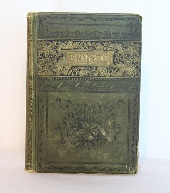 Early Volume Tennyson Book, publ. 1833