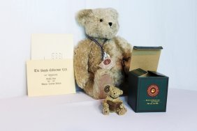 Boyd's Original Mohair Bear In Box With COA