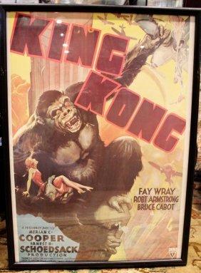 King Kong Classic Movie Art