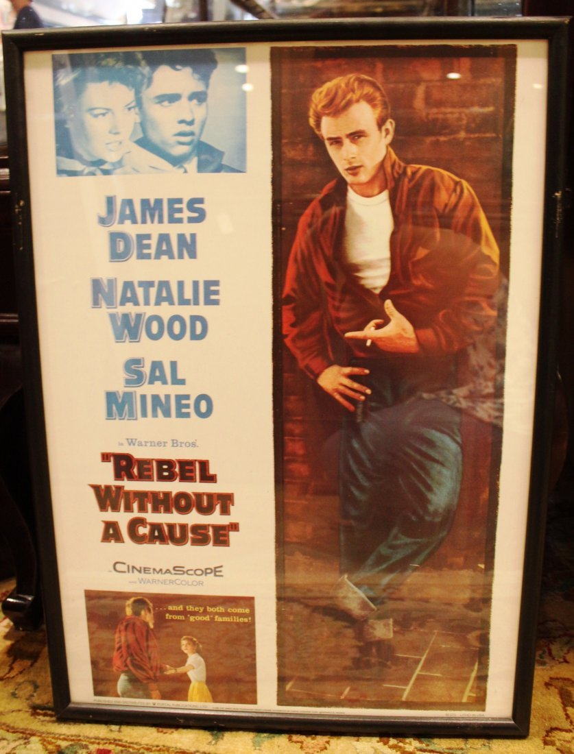 Rebel Without A Cause Framed Classic Movie Art
