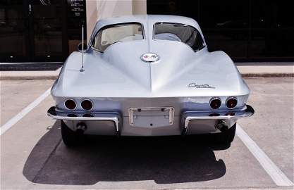 1963 Stingray Corvette Split Window Coupe 327 CI