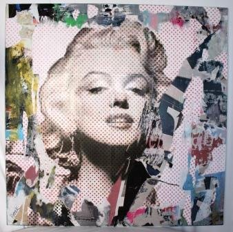 "Original Jim Hudek ""Marilyn Monroe"""