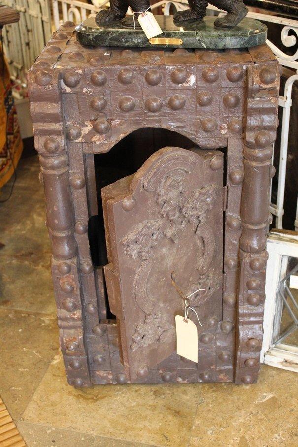 Antique Hobnail Safe
