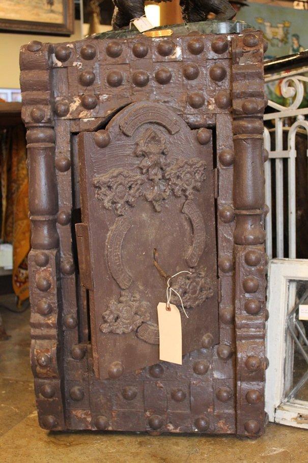 Antique Hobnail Safe - 2