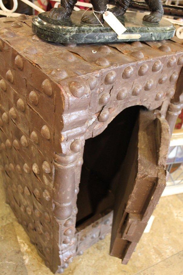 Antique Hobnail Safe - 3