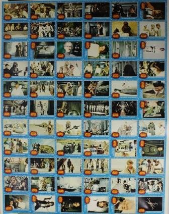 1977 Uncut Topps STAR WARS set Series 1 *RARE