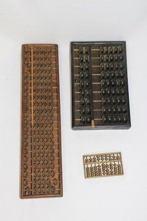 Set of Three Antique Abacus's