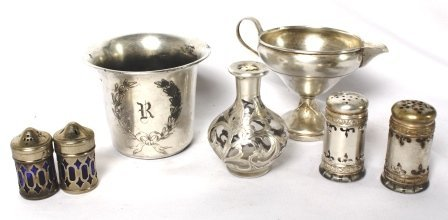 Mixed Lot of Silver: 1890's-1930's