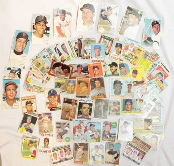 Lot of 1950's & 60's Collector's Baseball Cards