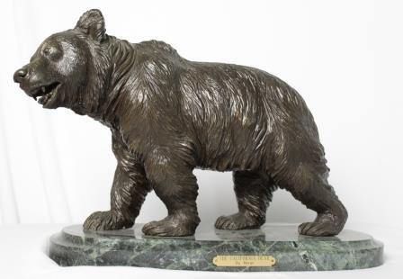 Bronze Bear by Louis Bayre