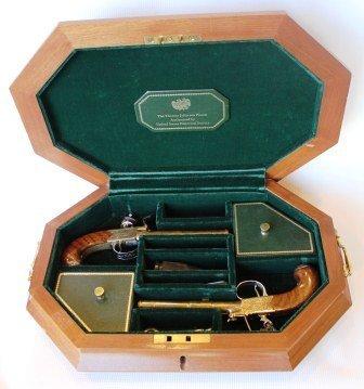 Official Thomas Jefferson Reproduction Duel Pistols