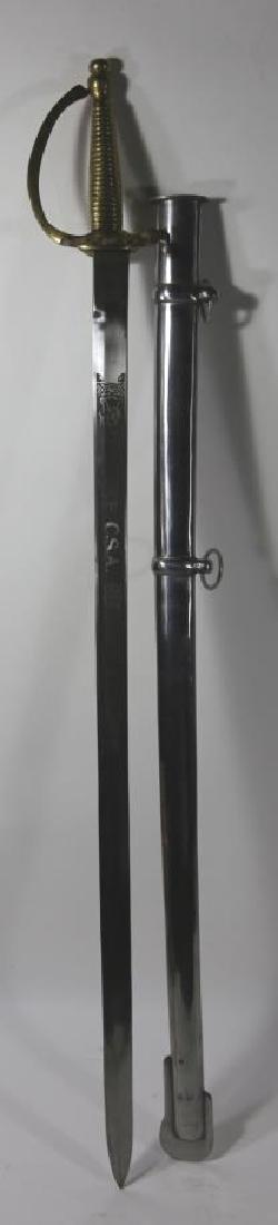 CONFEDERATE SOLDIERS CAVALRY SABRE SWORD & SCABARD