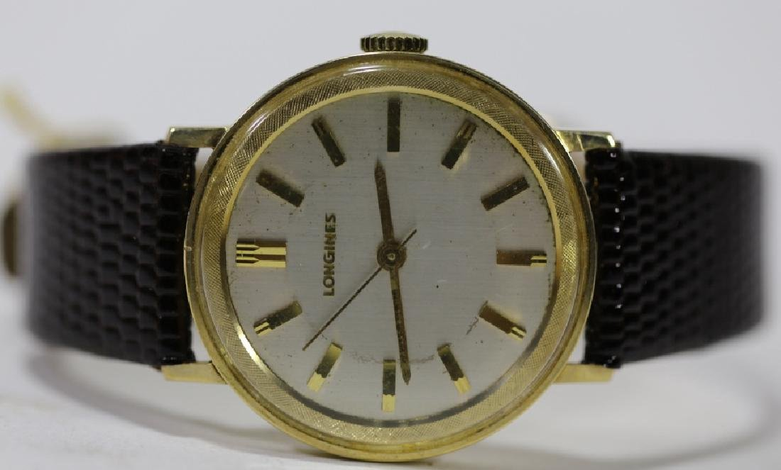 LONGINES SOLID GOLD VINTAGE MENS WATCH