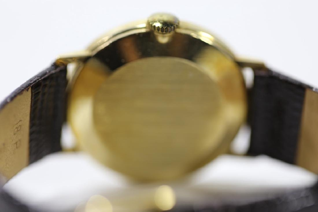 LONGINES SOLID GOLD VINTAGE MENS WATCH - 5