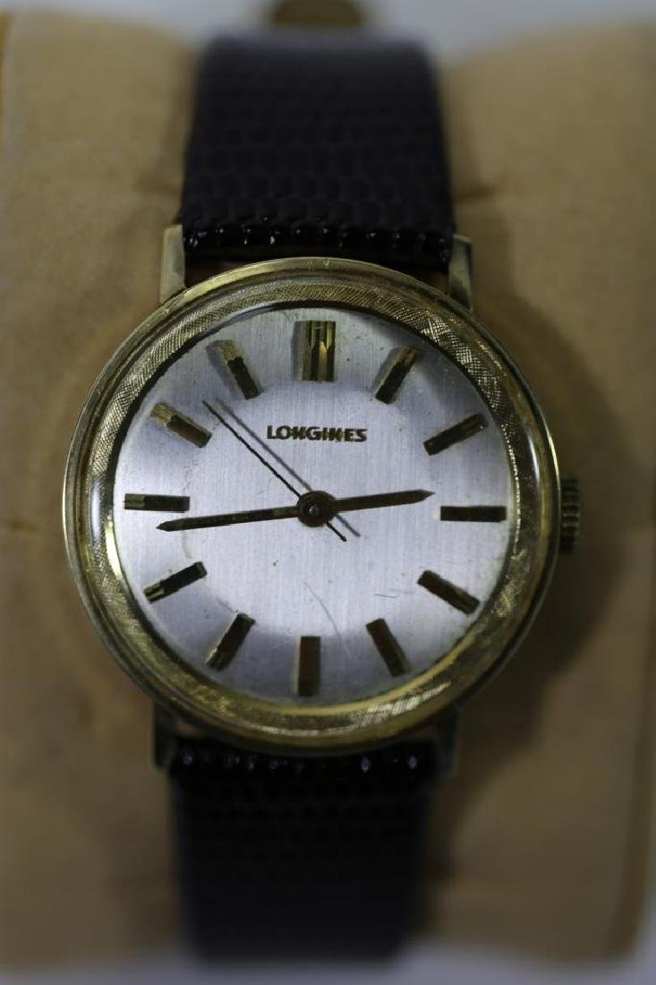 LONGINES SOLID GOLD VINTAGE MENS WATCH - 6