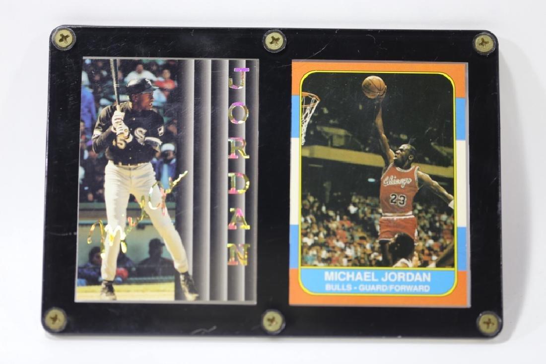 MICHEAL JORDAN SLABBED BASKETBALL / BASEBALL CARDS