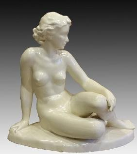 BISQUE PORCELAIN SCULPTURE