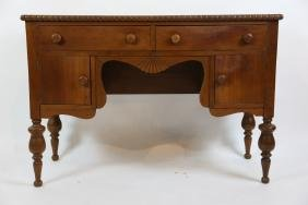 SOUTHERN WALNUT ANTIQUE DRESSING TABLE/ DESK