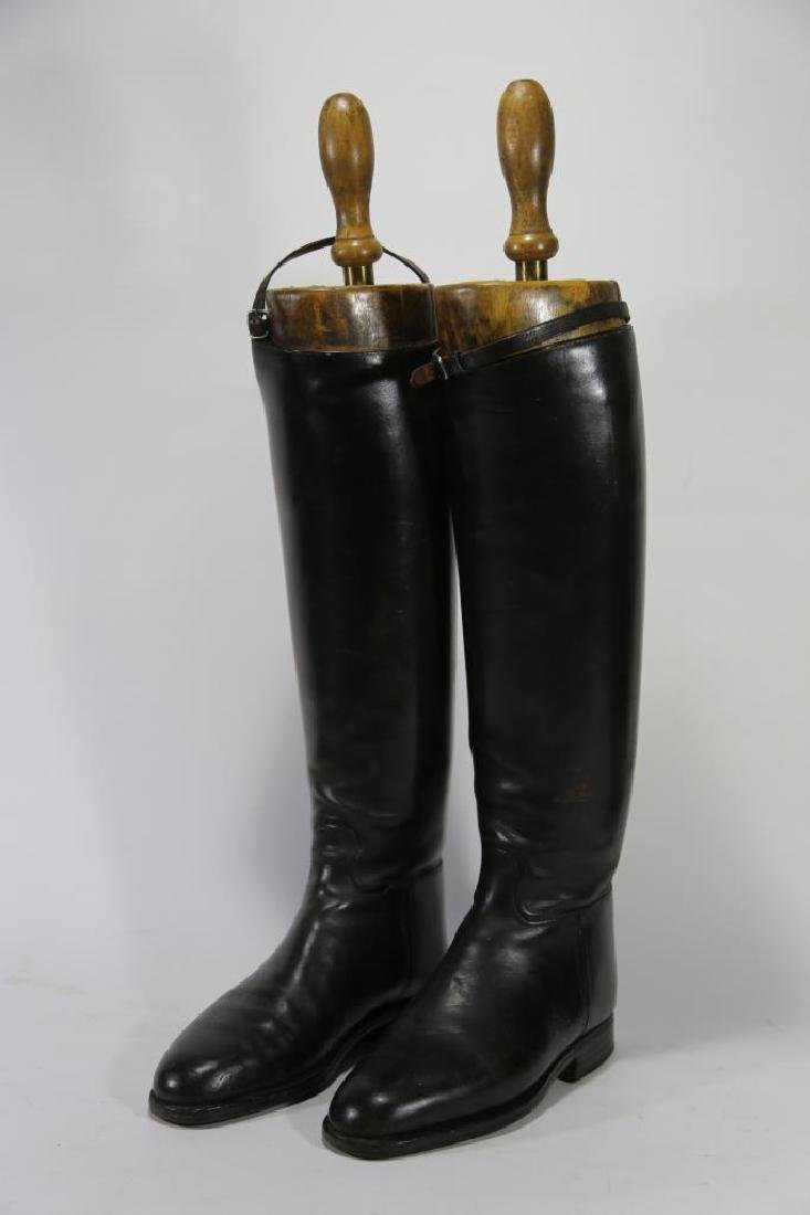 TIM HILL LONDON ANTIQUE RIDING BOOTS WITH TREES