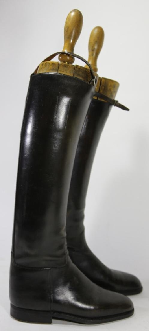TIM HILL LONDON ANTIQUE RIDING BOOTS WITH TREES - 2