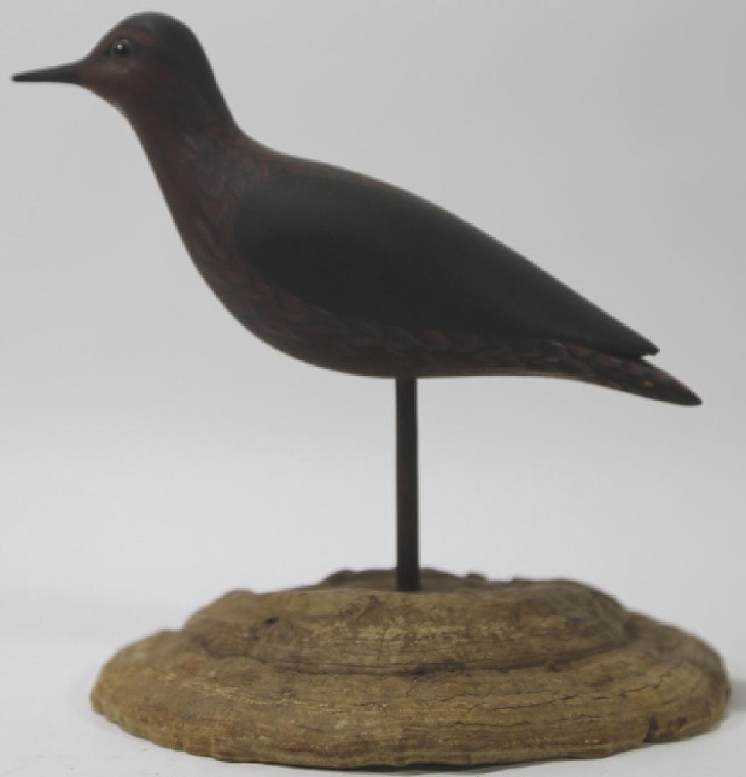 HAND CARVED COASTAL BIRD BY JIM & BETTY REYNOLDS - 5